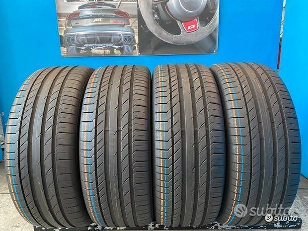4 Gomme 235/55 R18 - 100V Continental est. 85% res