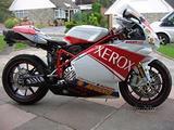 Kit Carena ABS Ducati 749 999 White Xerox