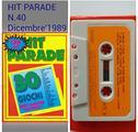 Cassetta Commodore 64, 30 giochi HIT PARADE N.40