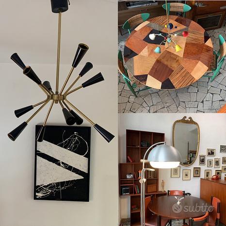 Mobili, lampade e oggettistica di design e vintage