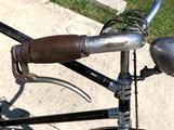 Bici d'epoca vintage steyr contropedale
