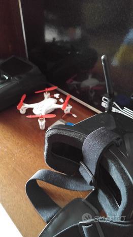 Drone Fpv hubsan h107d+valigetta