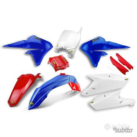 Kit plastiche per moto da cross HONDA YAMAHA KTM