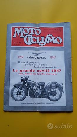MOTOCICLISMO Rivista fascicolo n.4-5 1947
