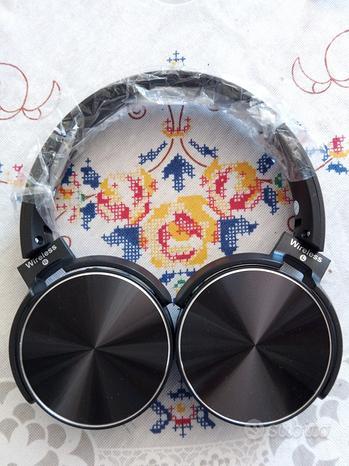 Cuffia wireless 5.0 + edr hi-fi stereo 450 BT head