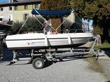 Barca open motoscafo senza patente
