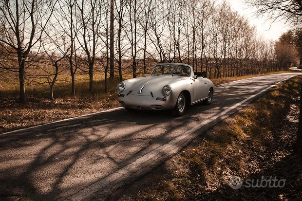 "Porsche - 356 c 1600 cabrio ""reutter"" - 1963"