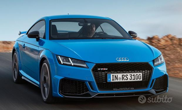 Audi TT Coupe/Cabrio 14->> paraurti style RS