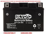 Batteria kyoto yt12a-bs 12v 10ah acido per suzuki
