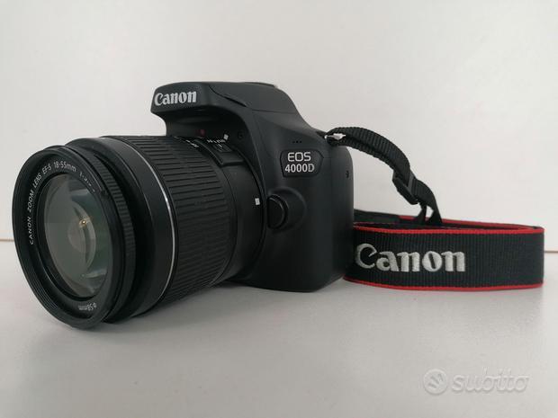 Reflex Canon EOS 4000d Video Full HD WiFi