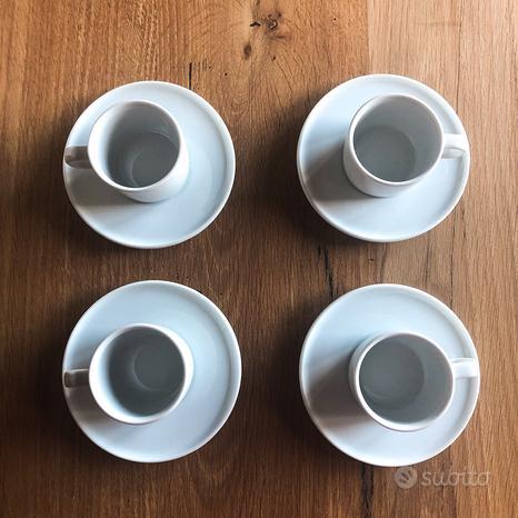 Set 4 tazzine da caffè Alessi