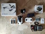 Drone Hubsan Zino pieghevole folding 4K, 2K, 1080