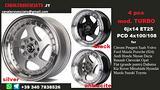 Cerchi Turbo II 6x14 4x100 4x108 et25