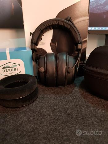 Beyer Mmx300gen.2 e dekoni choice leather pads