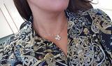 Collana Salvini con Pendente Farfalla Oro/Diamanti