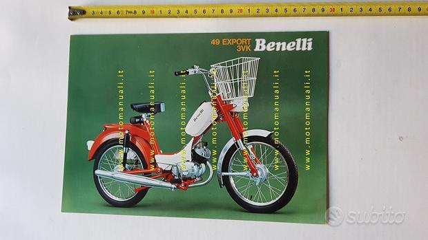 Benelli 49 Export 3VK anni 70 depliant brochure