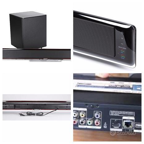 Soundbar subwoofer wireless + blueray dvd