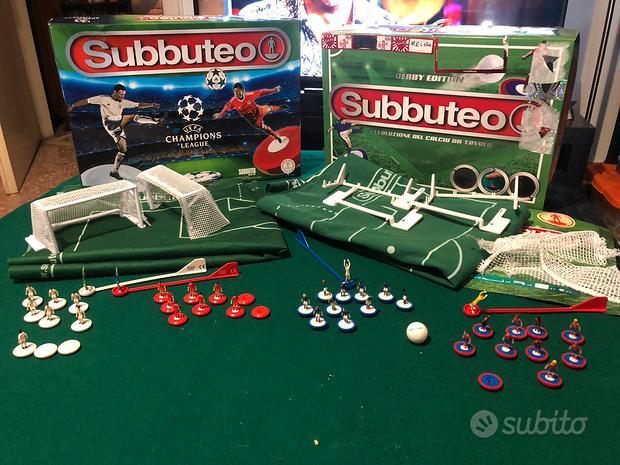 Subbuteo 2 Confezioni Derby Edition e Champions L