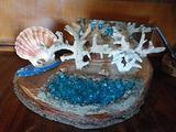 Sopramobile in corallo
