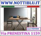 Tavolino Trasformabile Raddoppiabile A15 NOTTI BLU
