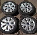 Cerchi in ferro 16 Ford Focus C-Max con pneumatici