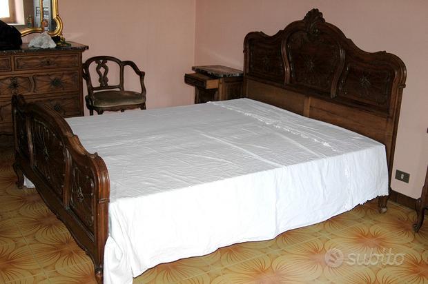Camera da letto barocco piemontese
