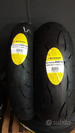 Dunlop gp racer d212 120/70 17 tl s + 180/55 tl m