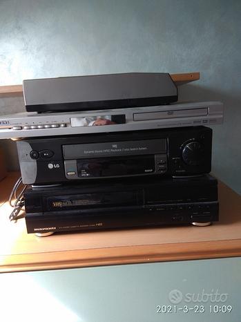 Lettore DVD e VHS