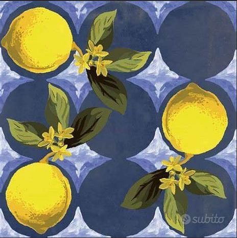 Piastrella Giardino Blu Luc. 20x20 Sant'Agostino