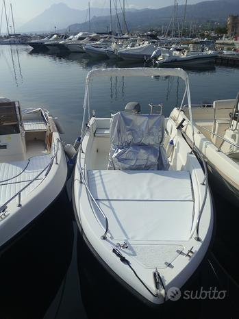 Barca con motore open 5 metri e 80cm