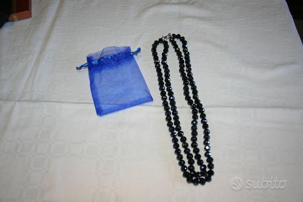 Collana cristallo blu