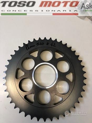Ducati corona ergal passo 520 Z 42 nuova
