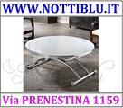Tavolino Trasformabile V78 Estensibile Rotondo
