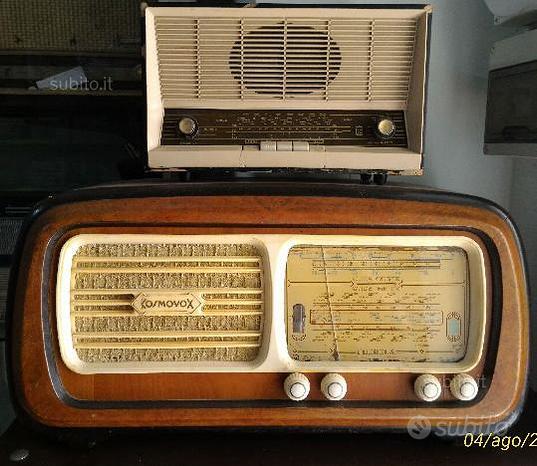 Radio d'epoca vintage varie