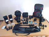 Nikon D800 professionale superaccessoriata
