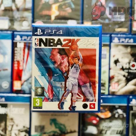 NBA 2K22 - PS4 e PS5 - Nuovo e sigillato