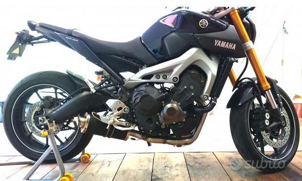 Power Titanium Black Yamaha MT-09 Tracer