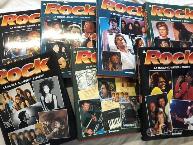 "110 lp ""la grande storia del rock "" con 7 Volumi"