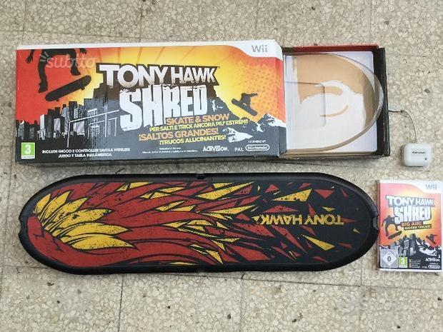 Gioco Wii Tony Hawk SHRED