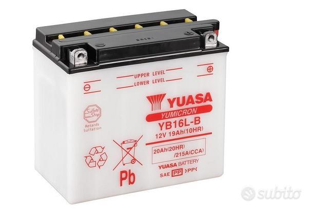 Batteria moto powersports yuasa YB16L-B
