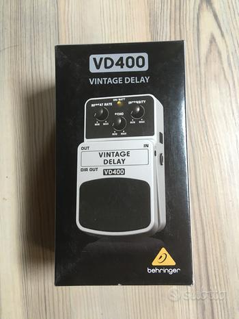 Pedale chitarra delay behringer vd400