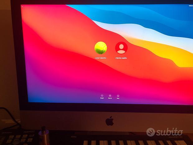 Apple iMac i5 21,5 display 4k ssd