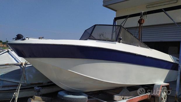 Barca a motore Rio 580 open