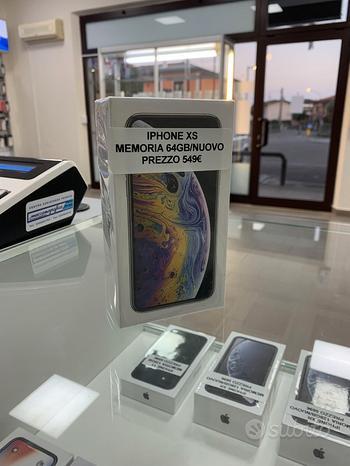 Iphone xs bianco 64gb nuovo garanzia 12 mesi