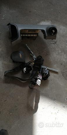 Kit airbag Chevrolet Aveo dell'anno 2010-2012