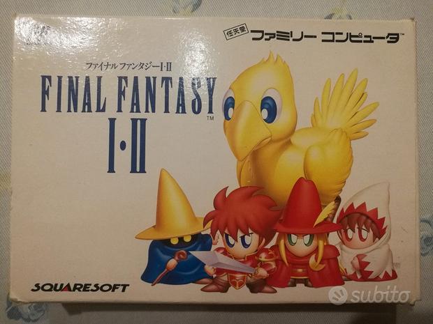 Final Fantasy I-II 1-2 Famicom Nes NTSC Jap