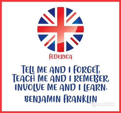 Inglese online con insegnante bilingue CELTA