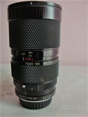 Obiettivo Soligor 35-140mm f 3.5 macro per Pentax