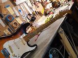 Stratocaster aldes guitar custom