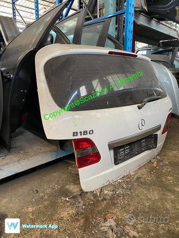 Portellone posteriore Mercedes Classe B 2011 Fi